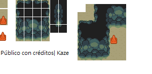 Cave tiles by Lordkazeh