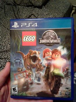Lego Jurassic World for PS4 by Loth-Eth