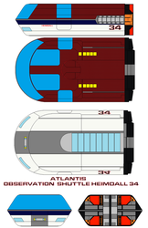 Atlantis Observation  Shuttle Heimdall 34 by bagera3005