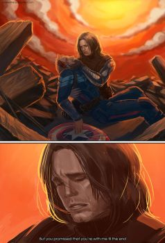 Captain America: The Winter Soldier - Til the end by maXKennedy