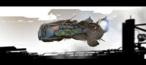 Spaceship by ldimonl