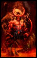 Hellboy by Justice41 by StephenSchaffer