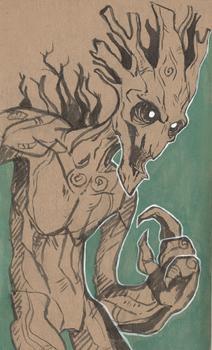 I am Groot by RainbowSpine