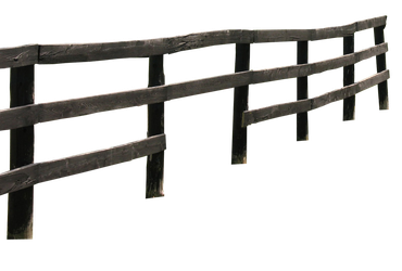wooden fence png by camelfobia