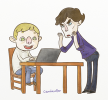 Sherlock does not understand blogging by camiavellar