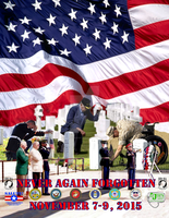 'Never Again Forgotten' Event Book Cover by simplemanAT