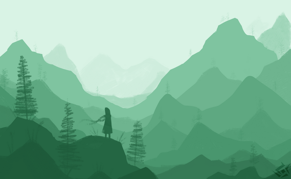 Mountains by DrakynRoll