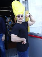 Johnny Bravo - Mantova Comics 2014 by Groucho91