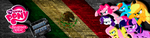 Banner bronies Mexico by KennyKlent