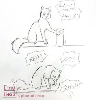 Adorable pain in the ass - part 1 by Daninha-chan