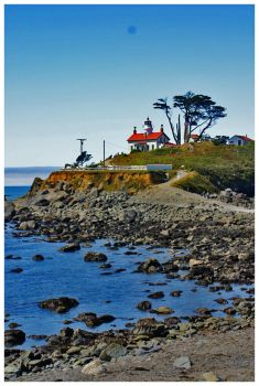 Crescent City Lighthouse by KidThink