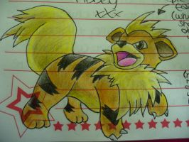 Growlithe by fireextinquisher