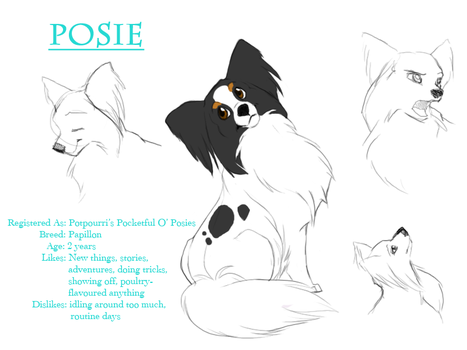 Character Profile - Posie by swift-whippet