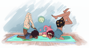 Yoga with Pokemon 002