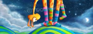 Striped socks - Revisited by Tooshtoosh