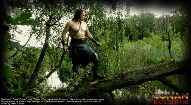 CONAN in the swamp forrest by KingofCologne