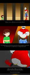 Undertale AU- Papyrus no longer believes in you... by Foxy-Sierra
