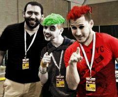 Darkminion666, Antisepticeye and Darkiplier by Alice1Tennant