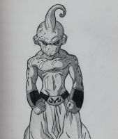 Kid Buu by YoungTalent93
