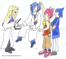 [KH] LoXL: Isa, Lea, Ienzo, and Even by raberbagirl