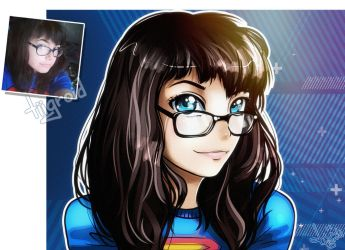 Super girl by tiigroid