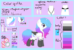 new color guide - mlp oc [ Old ] by Magical-wings06