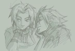 Suikoden:Hugo and Caesar by kitten-chan