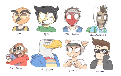 The Vanossgaming Crew by LostFox18