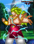 LSSJ 3 Broly by Evil-Black-Sparx-77