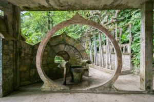 Jungle Castle Arch Stock by little-spacey