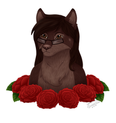Beautiful as a Rose (Gift) by Dragongirl1993