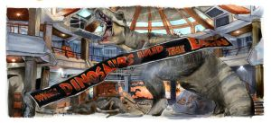 Jurassic Park - When Dinosaurs Ruled the Earth by Jimbeanus