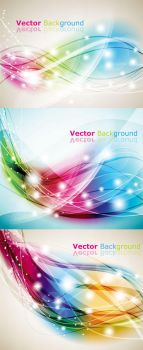 Colorful Abstract Background by vectorbackgrounds