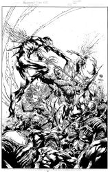 Aquaman Cover #3 Inks - Ivan Reis - High Res by tshorty11
