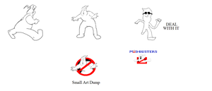 The Real Ghostbusters: No Ghost Art Dump (Small) by Ghostbustersmaniac
