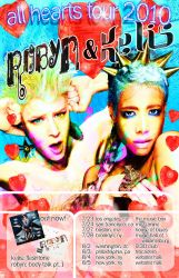 Robyn and Kelis poster design. by tim12s
