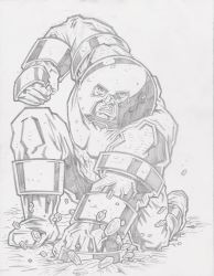 Juggernaut Pin-Up Pencils by KurtBelcher1