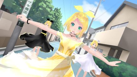 Spinning Rins MMD by roseverdict