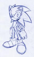 Sonic by rongs1234