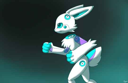 Cyber Robot by AcidPaw