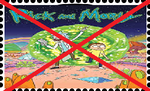 Anti Rick and Morty Stamp. by WOLFBLADE111