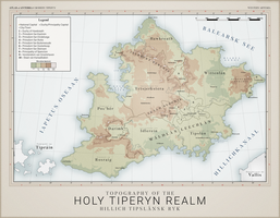 Tiperyn Topography - Atlas of Anterra by graphicamechanica