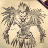Ryuk from Death Note by KarmaSound91