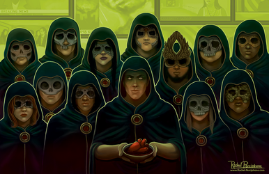 The Counsil of Death Lords (The Seventh Age) by Rachel-Perciphone