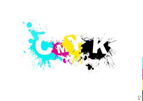 CMYK Type by benhewittcreative