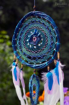 Dreamcatcher Gaze of Kalecgos by miaushka-workshop