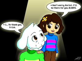 [Undertale] I'll be there for you. by MCMania332