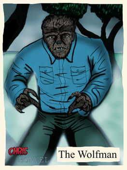 The Wolfman by ChrisMonvel