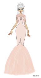 AT - Vanille gown by HeartStorm4ever