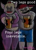 Four Legs inevitable by marcony